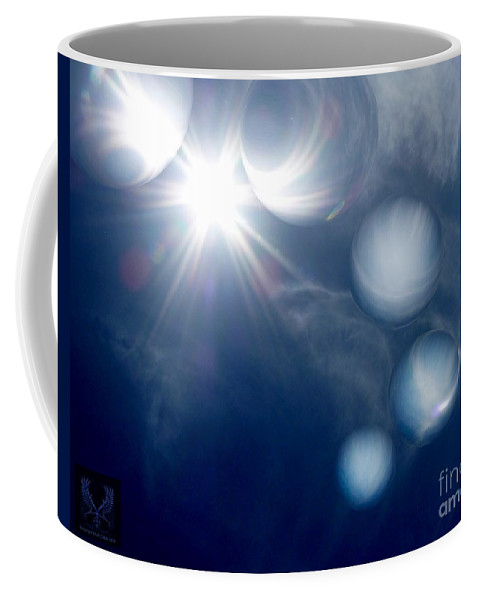 Colorful Coffee Mug featuring the photograph Morning Glow by Dale Crum