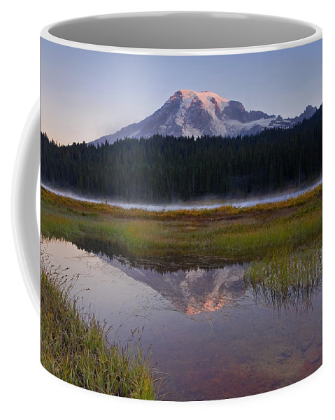 Sunrise Coffee Mug featuring the photograph Morning Glow by Mike Dawson