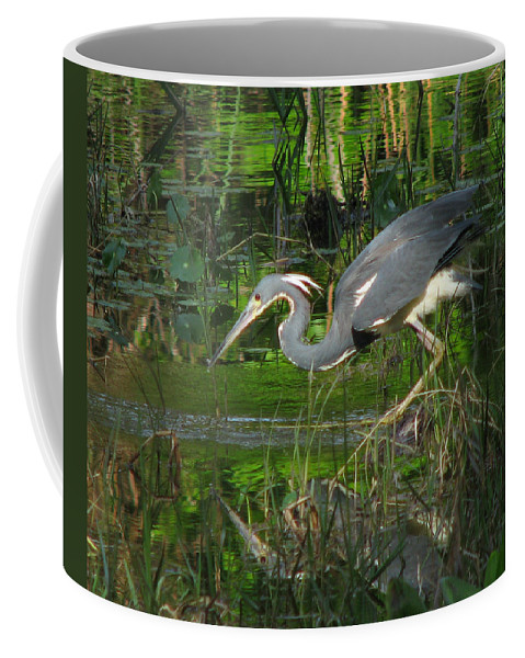 Nature Coffee Mug featuring the photograph Morning Hunt by Peg Urban