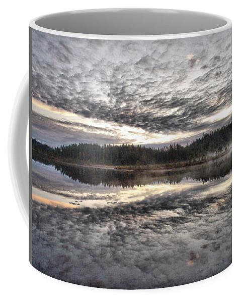 Lehtokukka Coffee Mug featuring the photograph Morning Light At Saari-soljonen 1 by Jouko Lehto