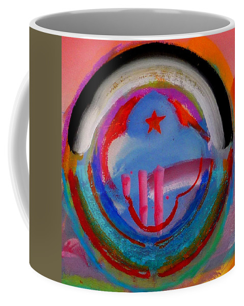 Logo Coffee Mug featuring the painting Morning Light by Charles Stuart