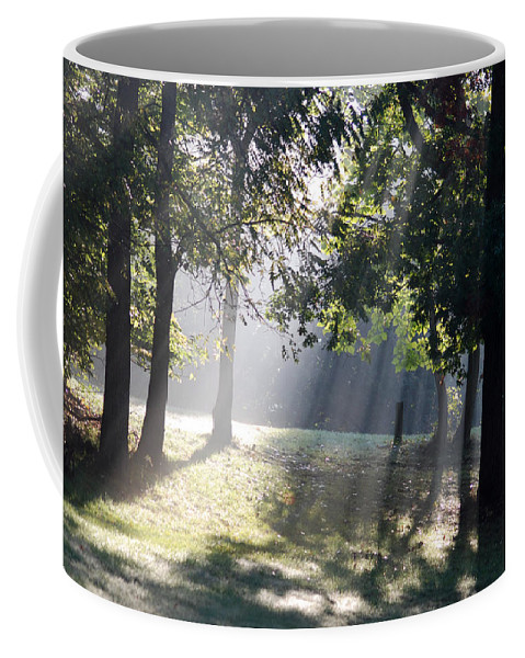 Landscape Coffee Mug featuring the photograph Morning Light by Michael Peychich