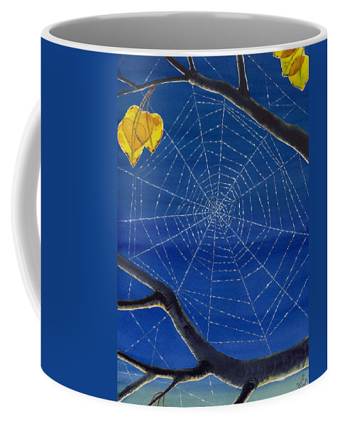Aspen Coffee Mug featuring the painting Morning Magic by Catherine G McElroy