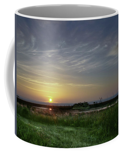 Sunrise Coffee Mug featuring the photograph Morning Marsh by Phill Doherty
