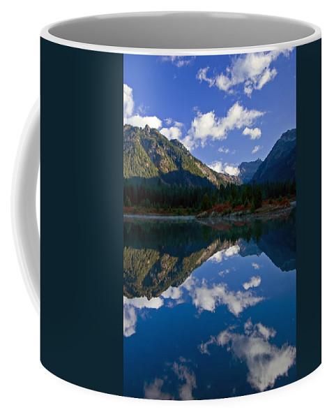 Pond Coffee Mug featuring the photograph Morning Musings by Mike Dawson
