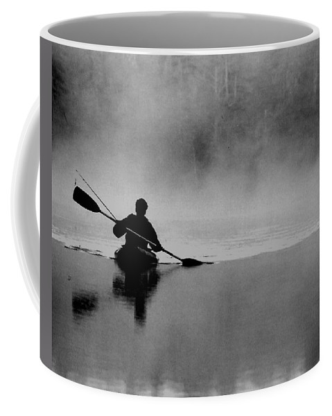 Nature Coffee Mug featuring the photograph Morning Paddle by Lisa Kane