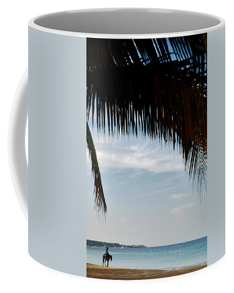 Lawrence Coffee Mug featuring the photograph Morning Ride by Lawrence Boothby