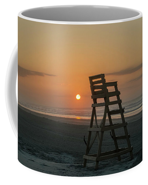 Morning Coffee Mug featuring the photograph Morning Sun - Wildwood Crest by Bill Cannon