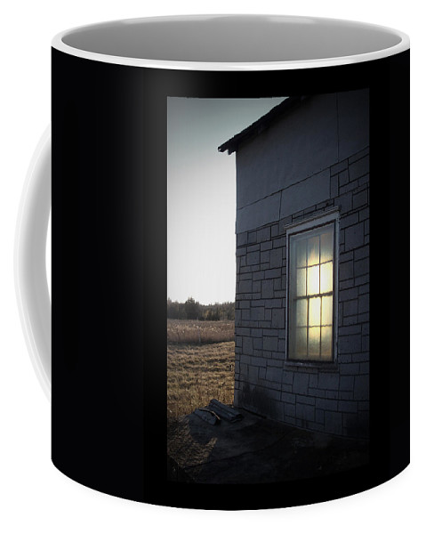 Window Coffee Mug featuring the photograph Morning Sun Window by Tim Nyberg