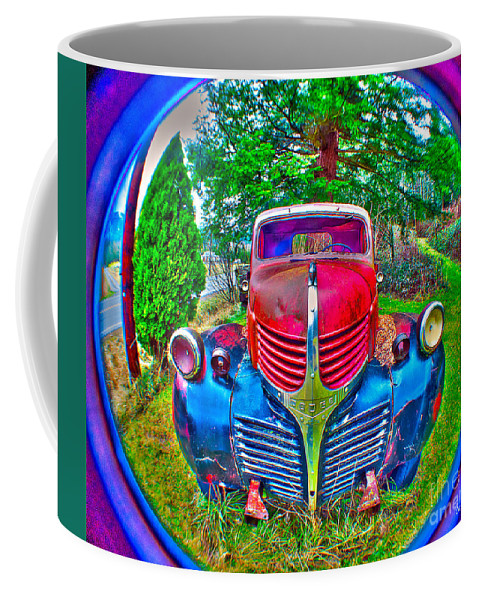 Art Coffee Mug featuring the photograph Morphing Mopar by Clayton Bruster