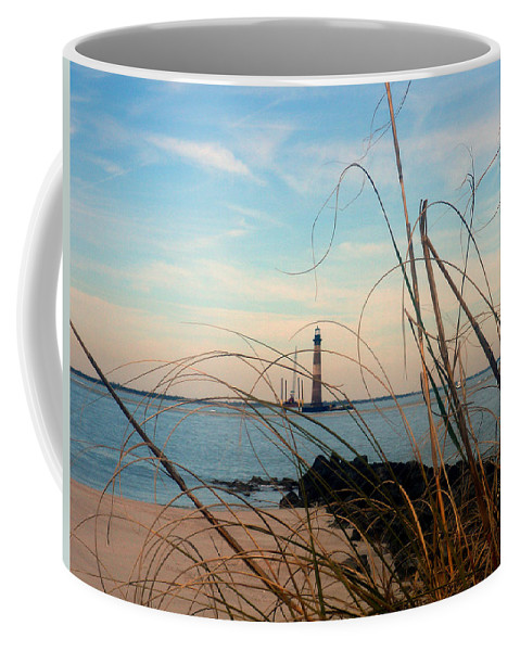Photography Coffee Mug featuring the photograph Morris Island Lighthouse In Charleston Sc by Susanne Van Hulst