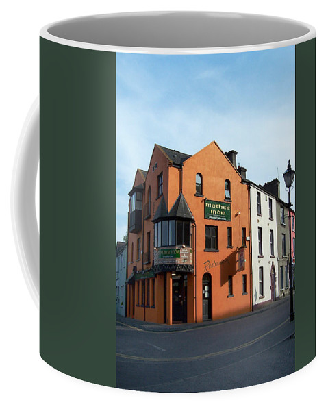 Ireland Coffee Mug featuring the photograph Mother India Restaurant Athlone Ireland by Teresa Mucha