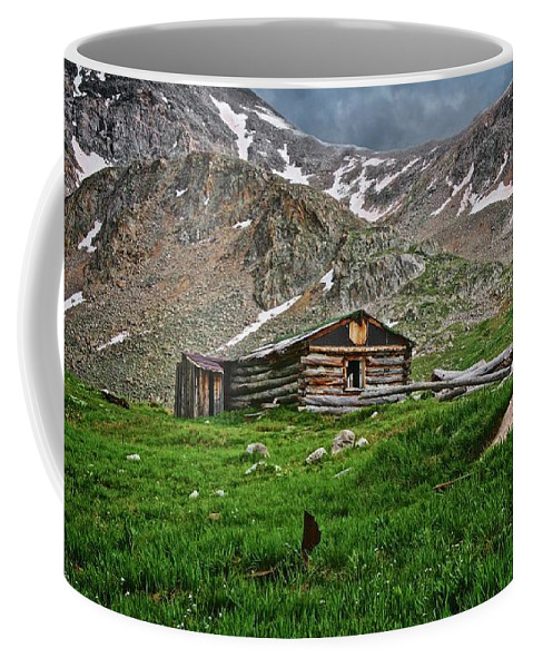 Nature Coffee Mug featuring the photograph Mother Nature's Reclamation Process, by Zayne Diamond Photographic