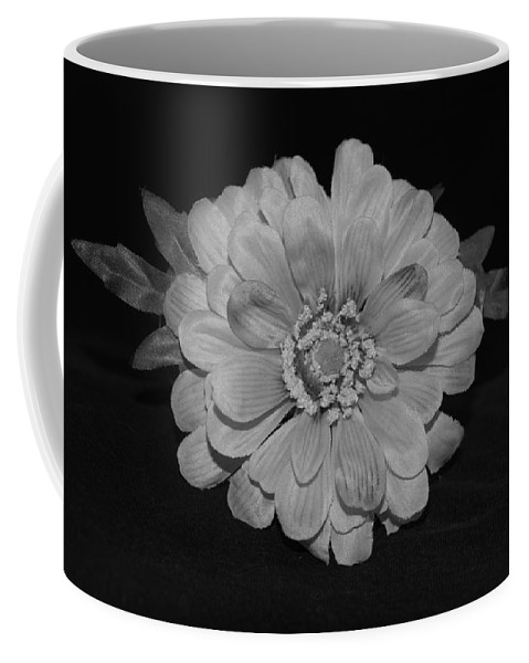 Black And White Coffee Mug featuring the photograph Mothers Day Flower by Rob Hans