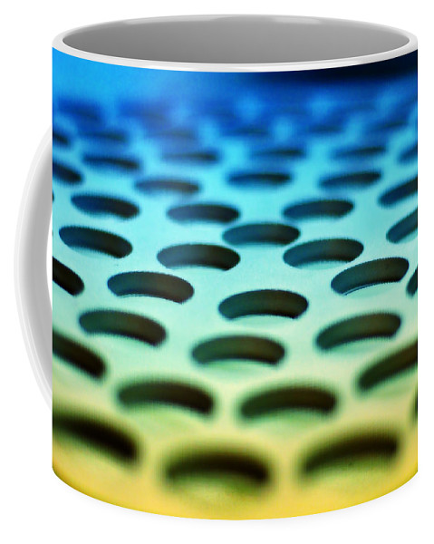 Industrial Coffee Mug featuring the photograph Mothership by Skip Hunt