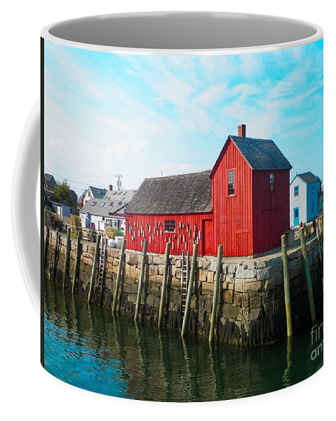 Motif #1 Coffee Mug featuring the photograph Motif #1 by Gina Sullivan