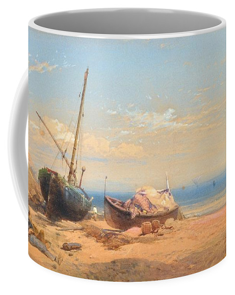 Lef Feliksovich Lagorio Coffee Mug featuring the painting Motif From Italy by MotionAge Designs