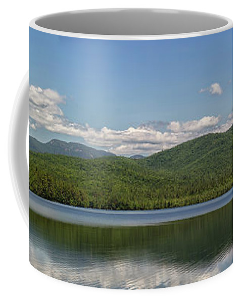 Mount Chocura Coffee Mug featuring the photograph Mount Chocura Panorama by Brian MacLean