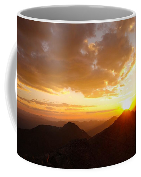 Sunset Coffee Mug featuring the photograph Mount Evans Sunset by Kevin Schwalbe