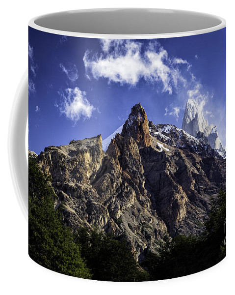 Patagonia Coffee Mug featuring the photograph Mount Fitz Roy 3 by Timothy Hacker