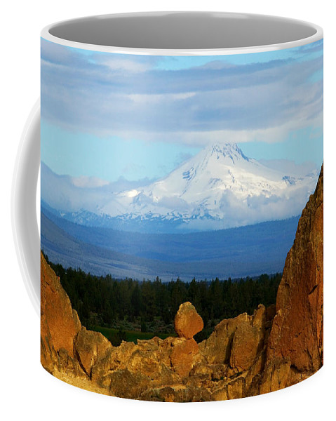 Mount Jefferson Coffee Mug featuring the photograph Mount Jefferson by Randall Ingalls