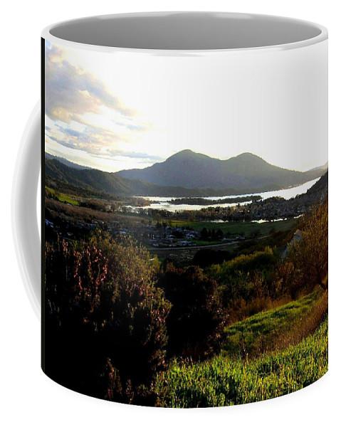 Mount Konocti Coffee Mug featuring the photograph Mount Konocti by Will Borden