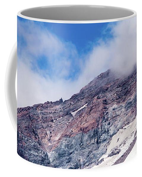 American Coffee Mug featuring the photograph Mount Rainier Closeup by Marv Vandehey