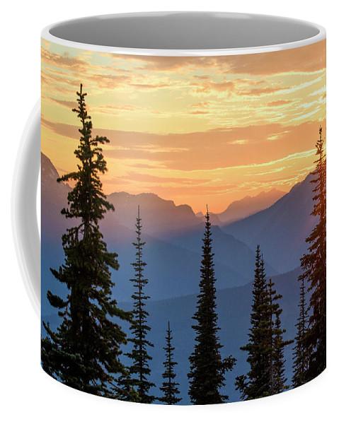 North America Coffee Mug featuring the photograph Mount Revelstoke by Christian Heeb