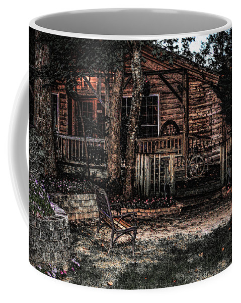 Forrest Hills Coffee Mug featuring the photograph Mountain Garden by Thomas Fields