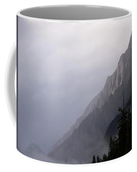 Rain Squall Coffee Mug featuring the photograph Mountain Moods by Greg Hammond