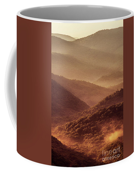 Sunrise Coffee Mug featuring the photograph Mountain Morning by Thomas R Fletcher