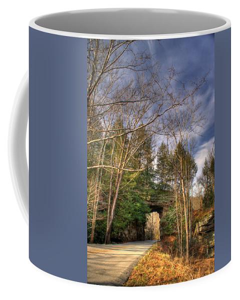 Mountain Coffee Mug featuring the photograph Mountain Pass by Douglas Barnett