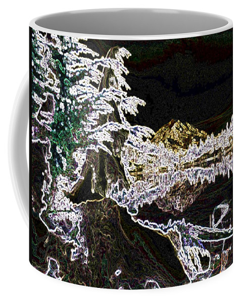 Mount Rainier Coffee Mug featuring the photograph Mountain Reflects by Tim Allen