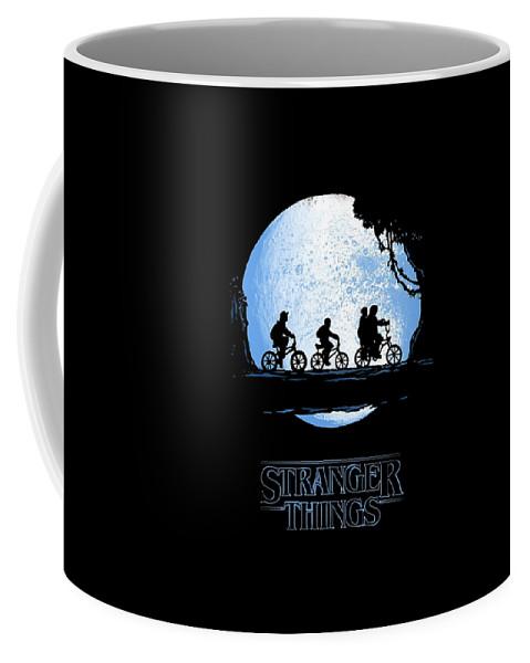 Stranger Coffee Mug featuring the digital art Movie by Bellina Bella