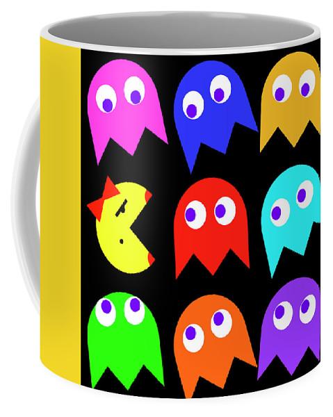 81410d85e7d Ms. Pacman Coffee Mug for Sale by Daniel Hagerman
