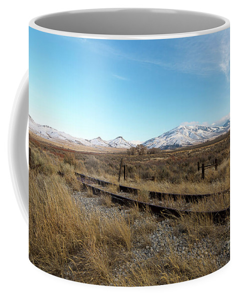 Chubbuck Coffee Mug featuring the photograph Mt Putnam by Idaho Scenic Images Linda Lantzy