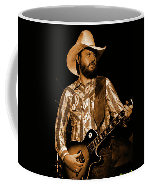 Southern Rock Coffee Mug featuring the photograph Mtb77#67 Enhanced In Amber by Ben Upham