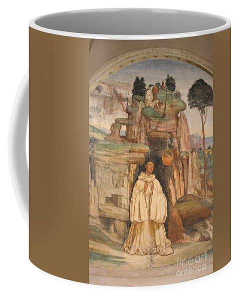 Mural Art Coffee Mug featuring the photograph Mural Church Art by Christiane Schulze Art And Photography