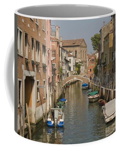 Murano Coffee Mug featuring the photograph Murano Canal 4329 by Bob Neiman