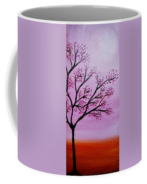 Muriels Coffee Mug featuring the painting Muriel's Tree Of Life by Pristine Cartera Turkus