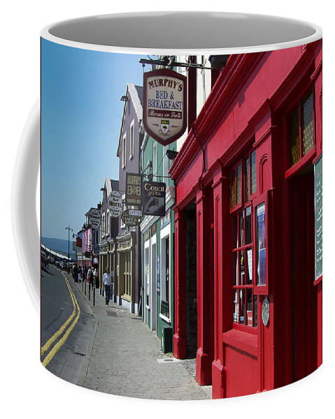 Irish Coffee Mug featuring the photograph Murphys Bed And Breakfast Dingle Ireland by Teresa Mucha