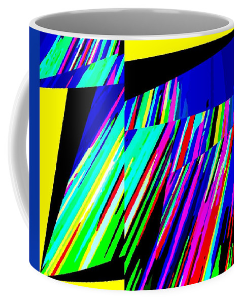 Abstract Coffee Mug featuring the digital art Muse 5 by Will Borden