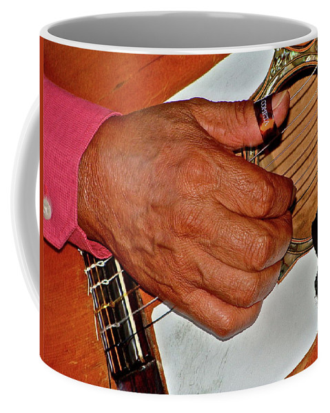 Music Coffee Mug featuring the photograph Music Maker by Diana Hatcher
