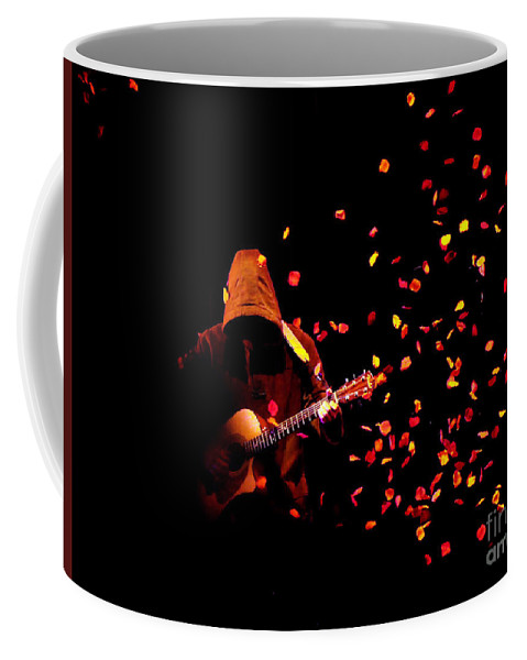 Clay Coffee Mug featuring the photograph Musical Appirition by Clayton Bruster