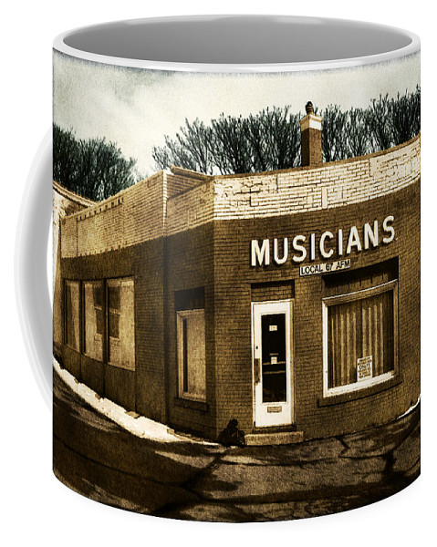 1950s Coffee Mug featuring the photograph Musicians Local 67 by Tim Nyberg