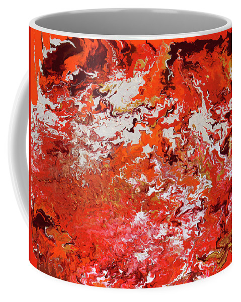 Fusionart Coffee Mug featuring the painting Mustang by Ralph White
