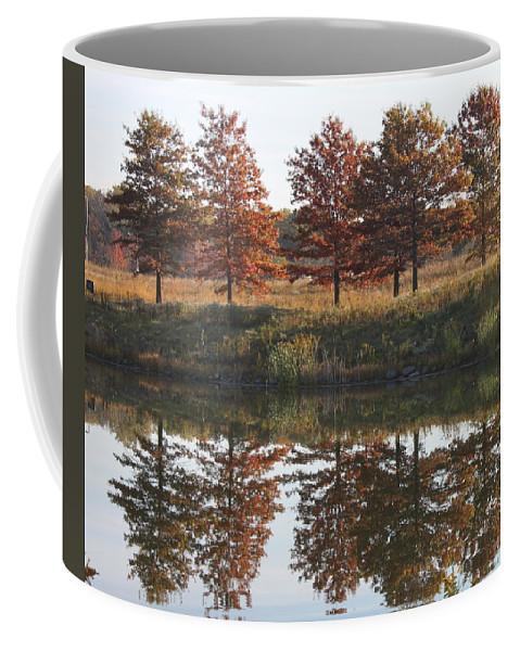 Fall Coffee Mug featuring the photograph Muted Fall by Lauri Novak
