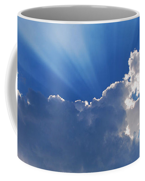 Scenic Tours Coffee Mug featuring the photograph My Blue Heaven by Skip Willits