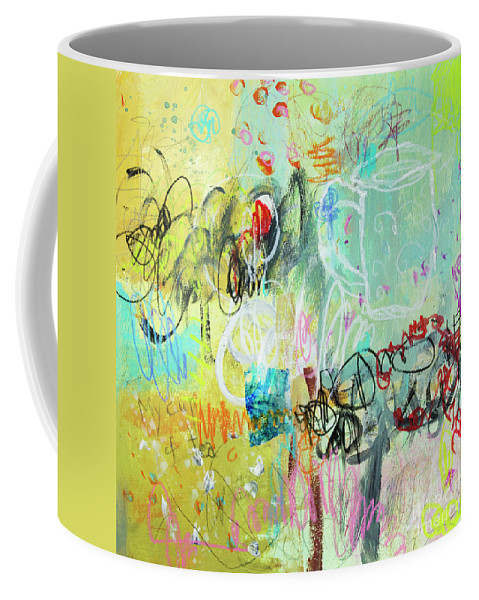 My Cup Of Tea Coffee Mug featuring the mixed media My Cup Of Tea by Elena Nosyreva
