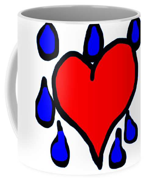 My Coffee Mug featuring the photograph My Heart Is Crying by Heather Joyce Morrill